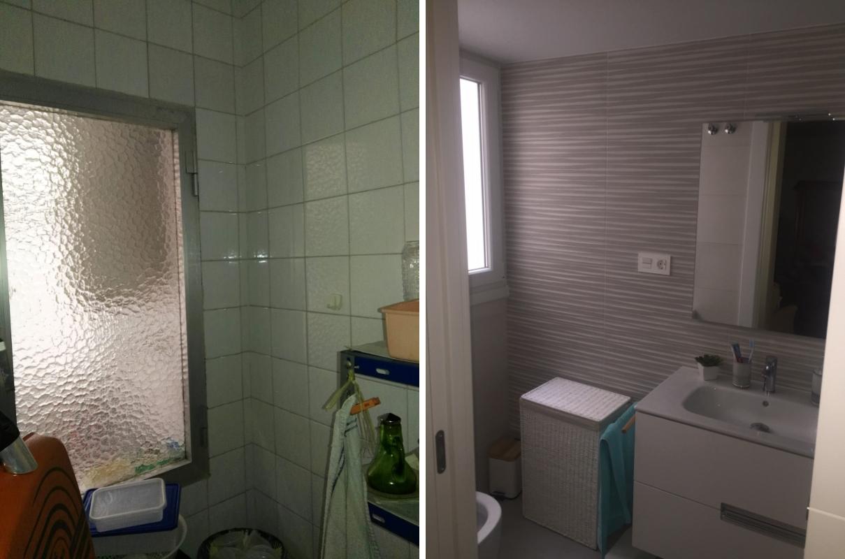 Reforma de baño en piso de Almería