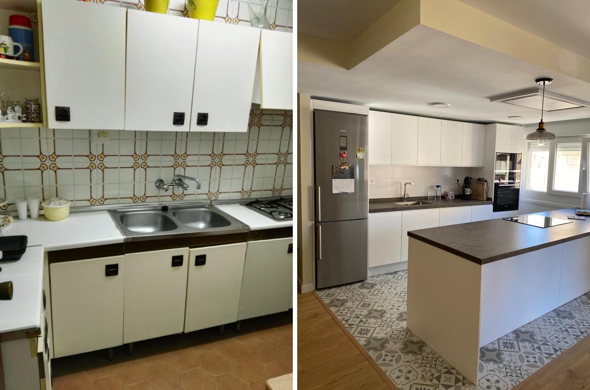 Reforma cocina en piso de Almería