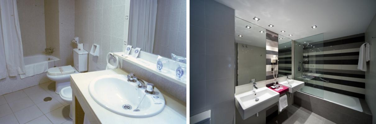 Reforma de baños Hotel Nuevo Torreluz