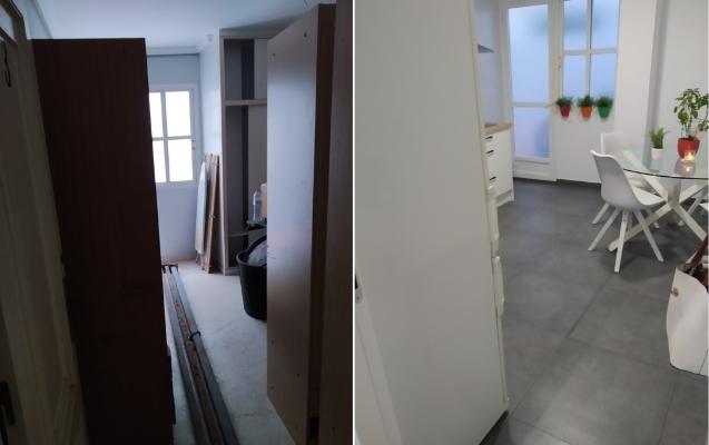Reforma cocina en piso Almería
