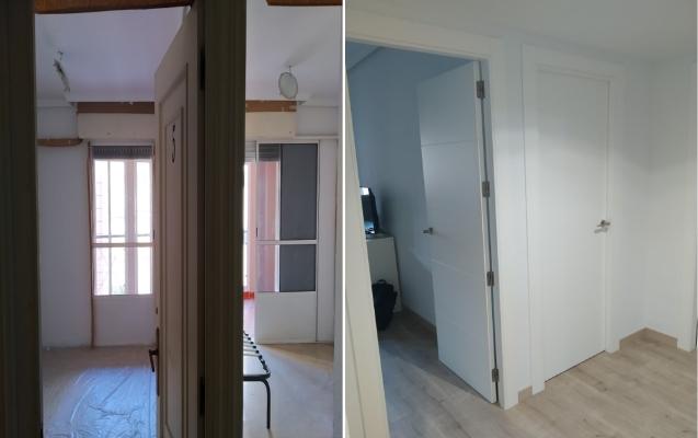 Reforma habitaciones en piso Barrio Santa Rita