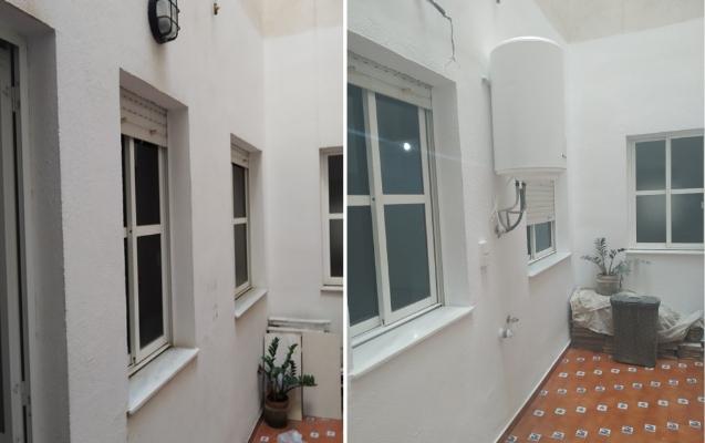 Reforma lavadero en barrio Santa Rita Almería