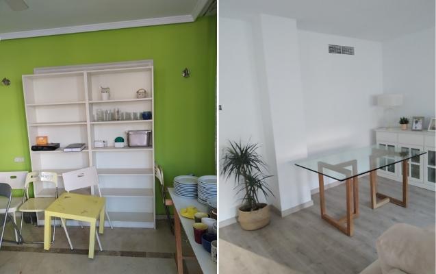 Reforma Salón piso en Almería